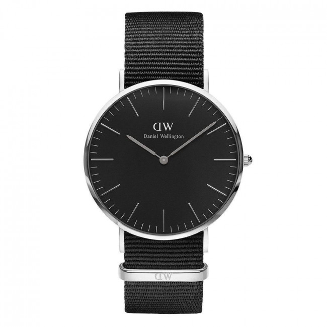 daniel wellington damen armbanduhr nylon edelstahl. Black Bedroom Furniture Sets. Home Design Ideas