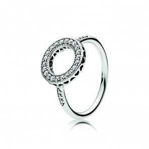 Pandora Silver ring with clear cubic zirconia 191039CZ