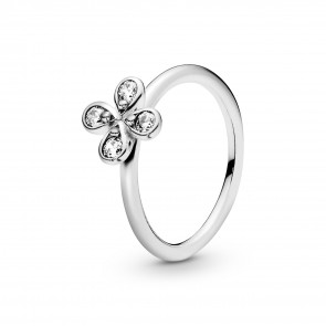 Pandora Four-Petal Flower Ring 197967CZ-50