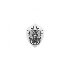 Rebeligion Damen-Charms Add Ons Black Rock Silber, Grau Silber 925/Sterling150059271001