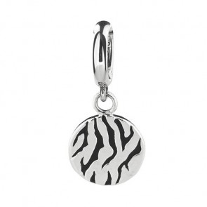 Rebeligion Damen-Charms Add Ons Rebeligion Rocks Silber, Schwarz Silber 925/Sterling150063071003