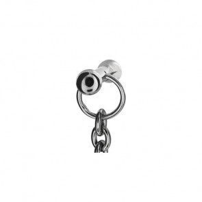 Rebeligion Damen-Charms Add Ons Rebeligion Rocks Silber, Schwarz Silber 925/Sterling150057371002