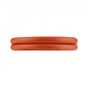 Rebeligion Damen-Armband Leather Orange  18.5 cm 801000001006M