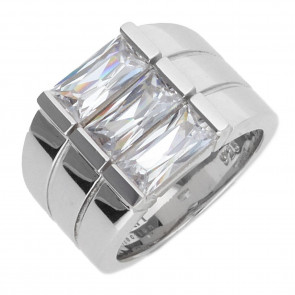 Esprit Collection Damen-Ring 925/-Sterling Silber Silber mit Zirkonia Größe 50 S.ELRG91469A160