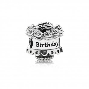 Pandora 791289 Silber Charm Happy Birthday