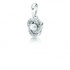 Pandora Luminous Love Knot Pendant 390401WCP