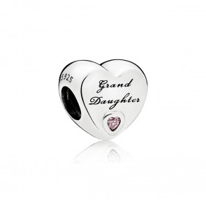Pandora Grand Daughter-Herz Charm 796261PCZ