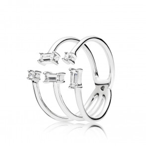 Pandora Shards of Sparkle Ring 197527CZ-54