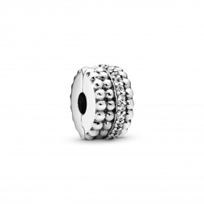 Pandora Beaded Brilliance Clip Charm 797520CZ