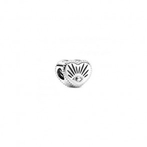 Originial Pandora All-seeing Eye & Heart Charm 799179C00