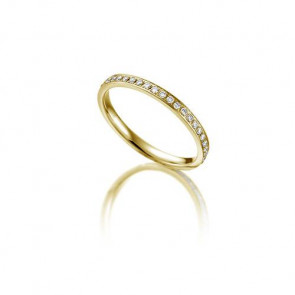 Rubin Memoire-Ring ALL21 - Gelbgold