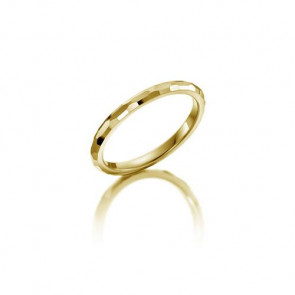 Rubin Memoire-Ring ALL26 - Gelbgold