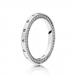 Pandora Signature Hearts of Pandora Ring 197437CZ-54