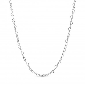 Pandora Joined Hearts Silber Kette 397961-60