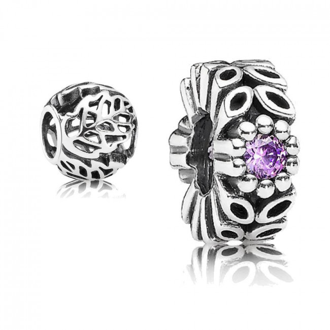 2292ab9c4 ... spain original pandora gift set 1 sparkling forest flower spacer  791224cfp and 1 openwork leaves charm ...