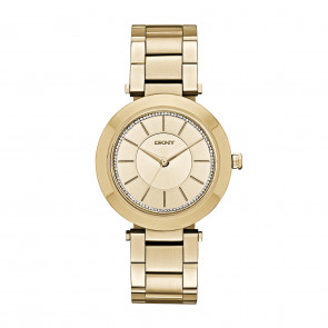 DKNY watch stainless steel gold NY2286
