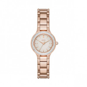 DKNY watch stainless steel grey rose rose NY2393